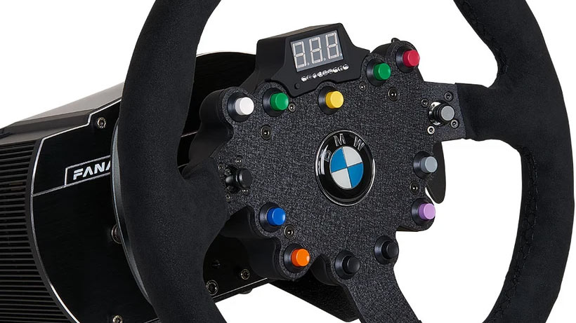Fanatec BMW GT2 Racing Wheel Review