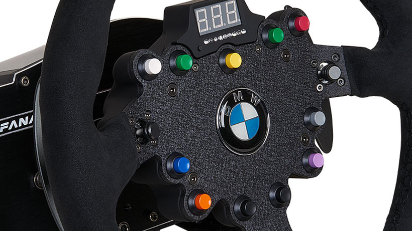 BMW GT2 Racing Wheel