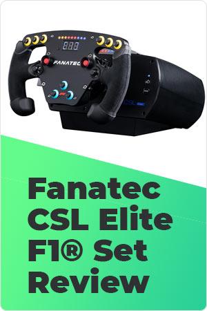 Fanatec CSL Elite F1 Set Review