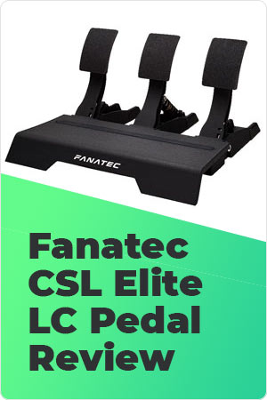 Fanatec CSL Elite LC Pedal Review