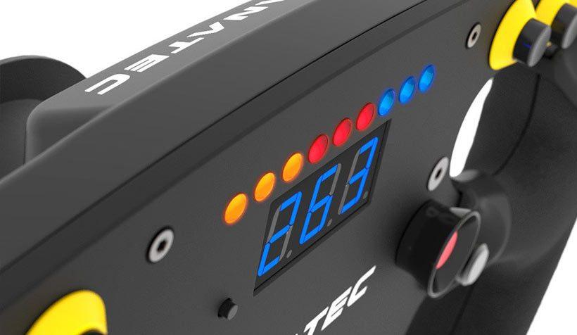 Sim Racing F1 Steering Wheel Rev Lights