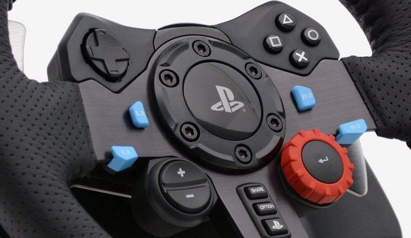 Logitech G29 Red button