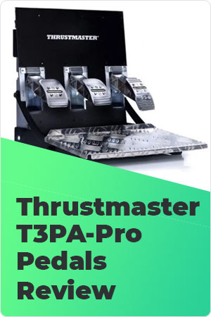 Thrustmaster T3PA-Pro Pedals Review