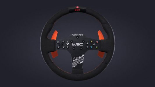 Fanatec CSL Elite Steering Wheel WRC