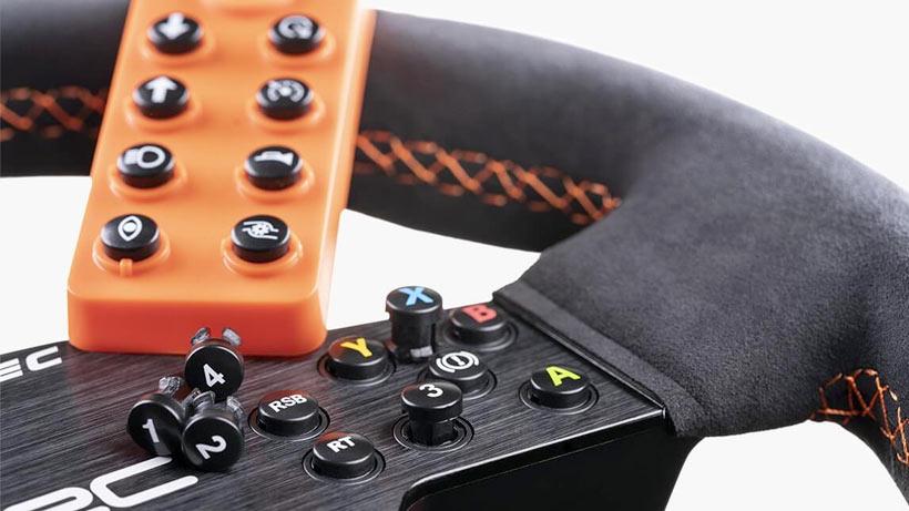 Fanatec WRC Wheel Buttons