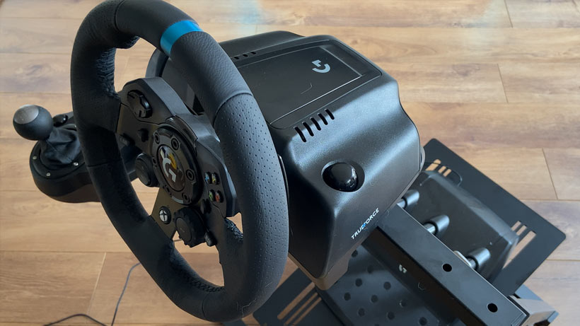 APEX Wheel Stand Logitech G923 Mounted