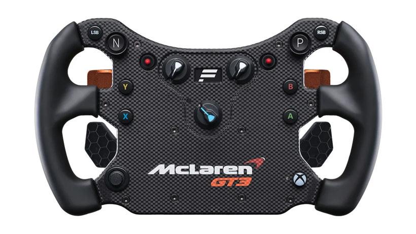 Fanatec McLaren GT3 V2 Wheel Design