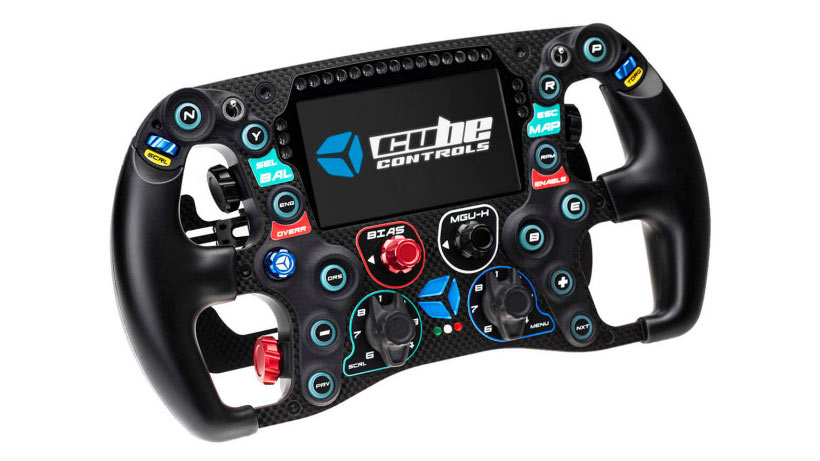 Cube Controls Formula CSX 2 Sim Racing Wheel